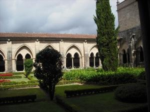 Claustro de la catedral de Tui (Pontevedra)